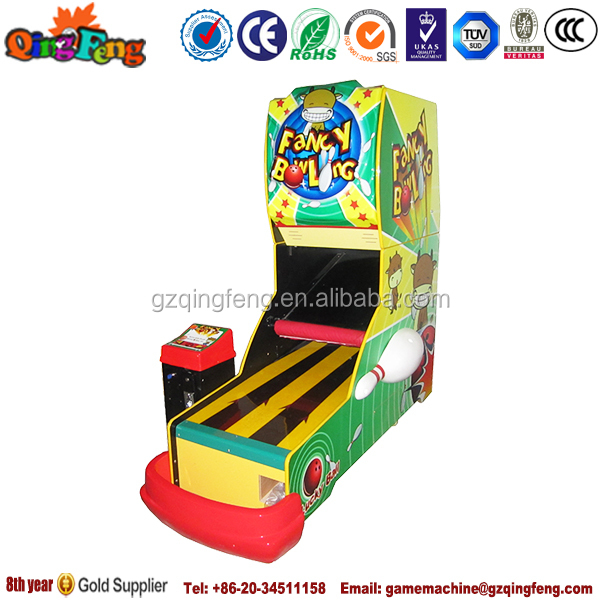 2015 newest popular BL-QF004 amusement arcade ghost bowling in guangzhou