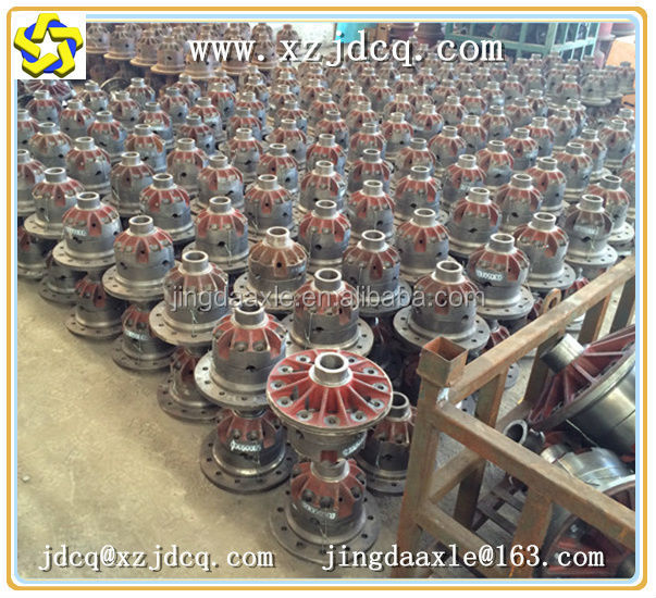 off road axles parts differential and main reducer for yineng small wheel loader and compactor suppliers of spare parts