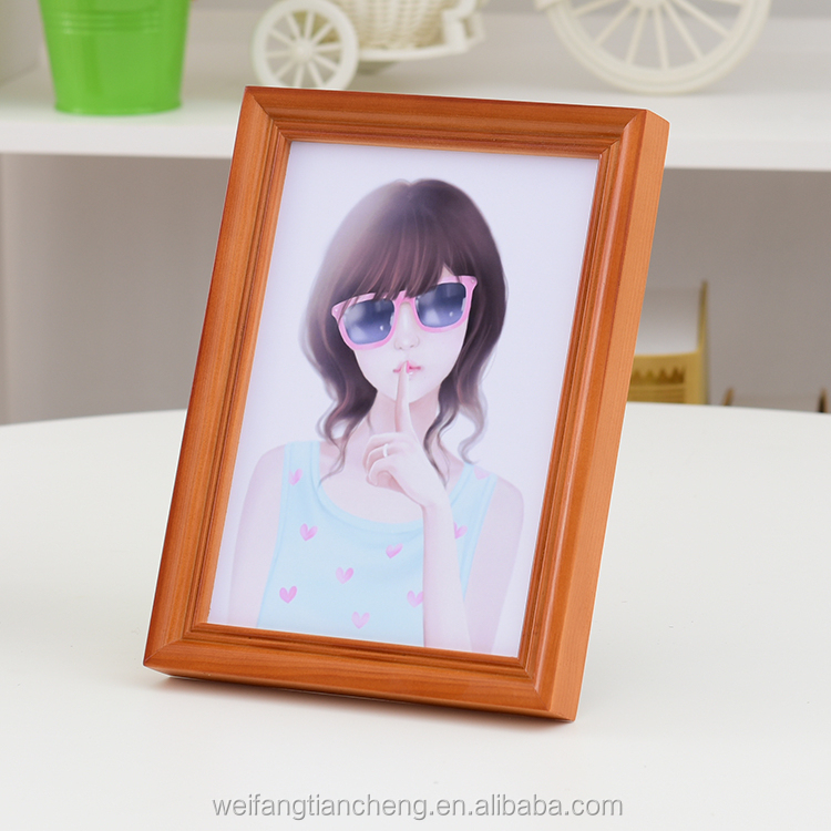 wooden photo picture frames 12x18 wall hanging wholesale accept online <strong>payment</strong>