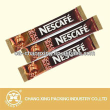 Food grade Instant coffee sachet packaging roll film for small coffee bag