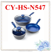 excellent houseware cutlery set sapphire ceramic coating cookware unique houseware to sell