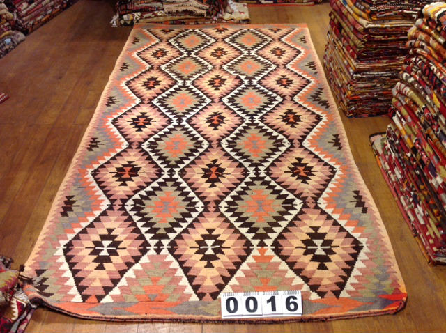 Turkish Vintage Kilim Rug - RG00235