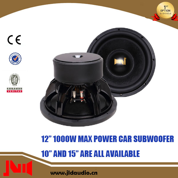 12 Inch Acoustic 1000W Max Power Speaker Subwoofer