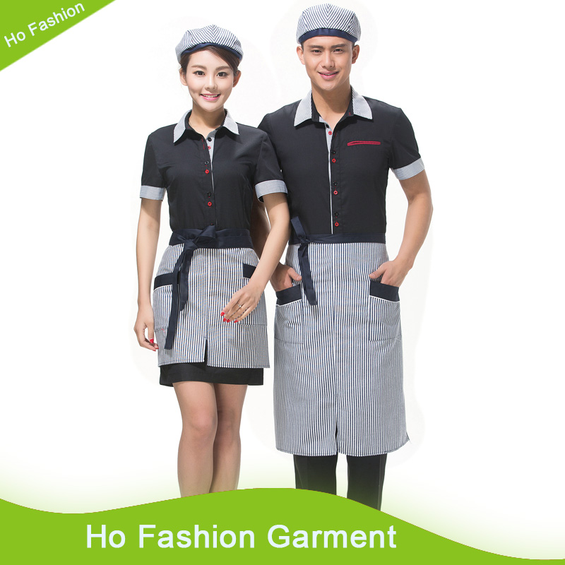 Top Quality hot sell stylish hotel restaurant catering uniforms