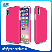 for iphone X case Hybrid hard PC bumper phone cover armor mobile phone cases hot selling in Alibaba