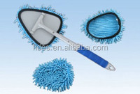 microfiber car window glass windshield cleaning brush