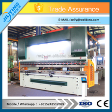 WC67k bending machine for hydraulic fitting/cnc bending machine sheet