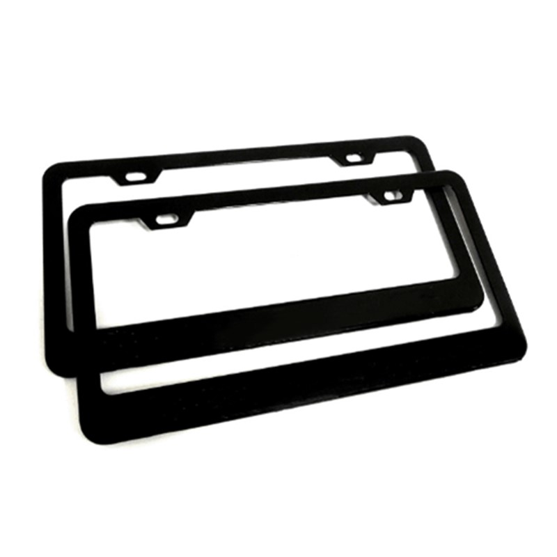 Custom Plastic European Blank Car License Plate Frames Wholesale ...