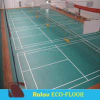 Guangzhou Supplier PVC Sports Flooring for Indoor Badminton Court