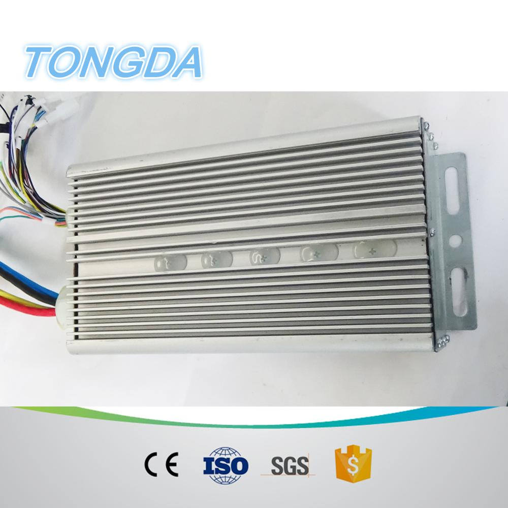 electric car 72v 2kw brushless dc motor controller