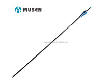 Musen archery MSTJ-80HS carbon arrows with superior and better penetration, durability and accuracy