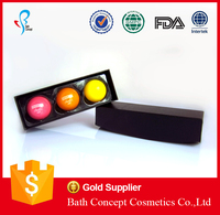 3pk OEM/ODM lip balm ball with printing logo