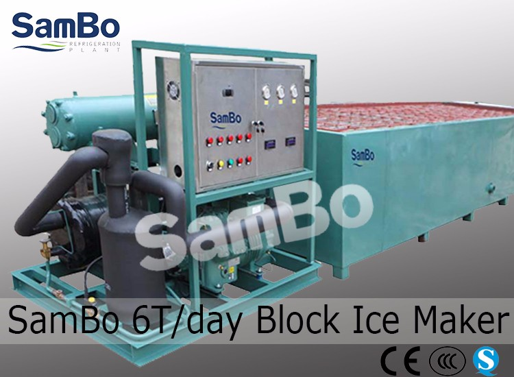Commercial and industrial cylinder tube ice making machine(10T/day)