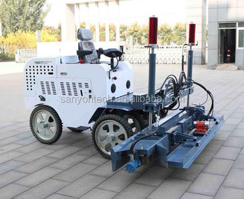 Laser concrete screed machine,concrete laser leveling machine