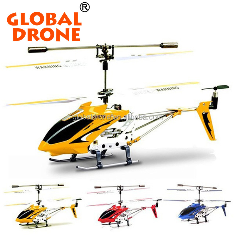 S107 RC flying toy gyro Radio Control Metal alloy fuselage Syma S107G 3CH R/C Helicopter Mini Co-Axial copter toy