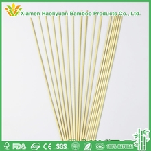 Wholesale Barbeque Natural Disposable Bamboo Grooved Skewer