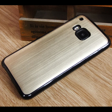 New fashion design cell phone brushed metal phone case, aluminum pc case for HTC M9