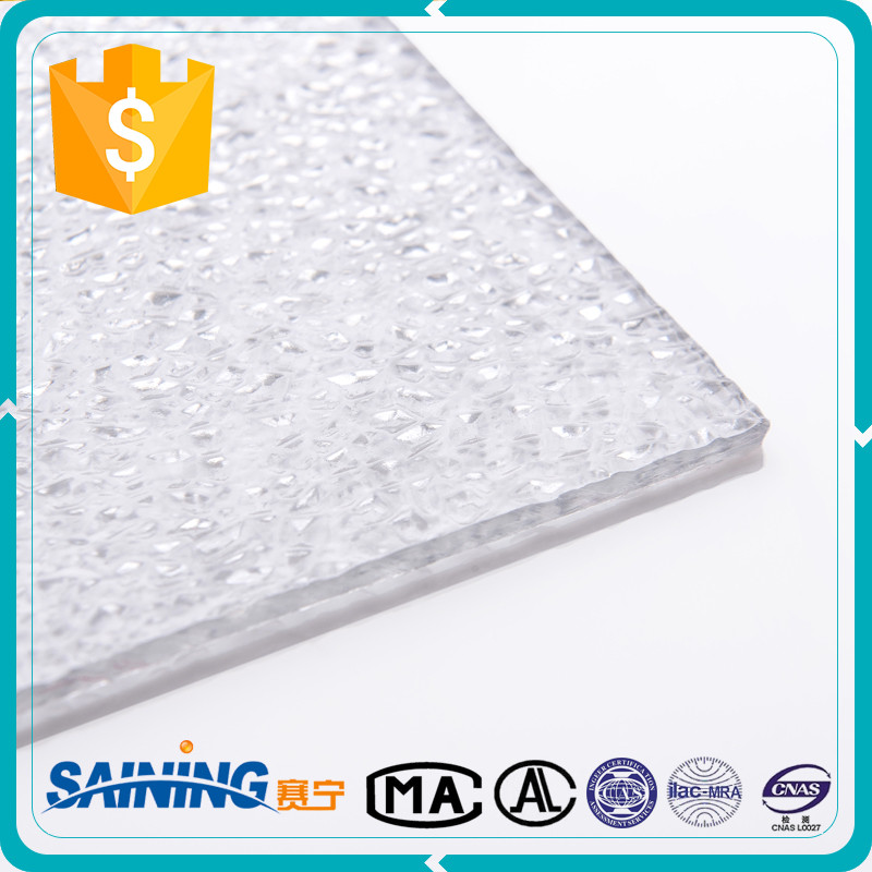 lexan solid polycarbonate sheet,polycarbonate embossed roofing panel,pc embossed sheet for decoration