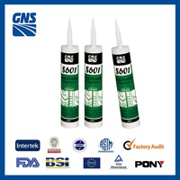 one-part silicone acetoxy clear sanitary sealant
