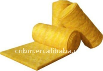 Fiber glass blanket building material