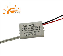 waterproof constant current 3*2w cob led driver 450ma with ce rohs approved
