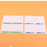 china customized easy peel off transparent pvc vinyl sticker