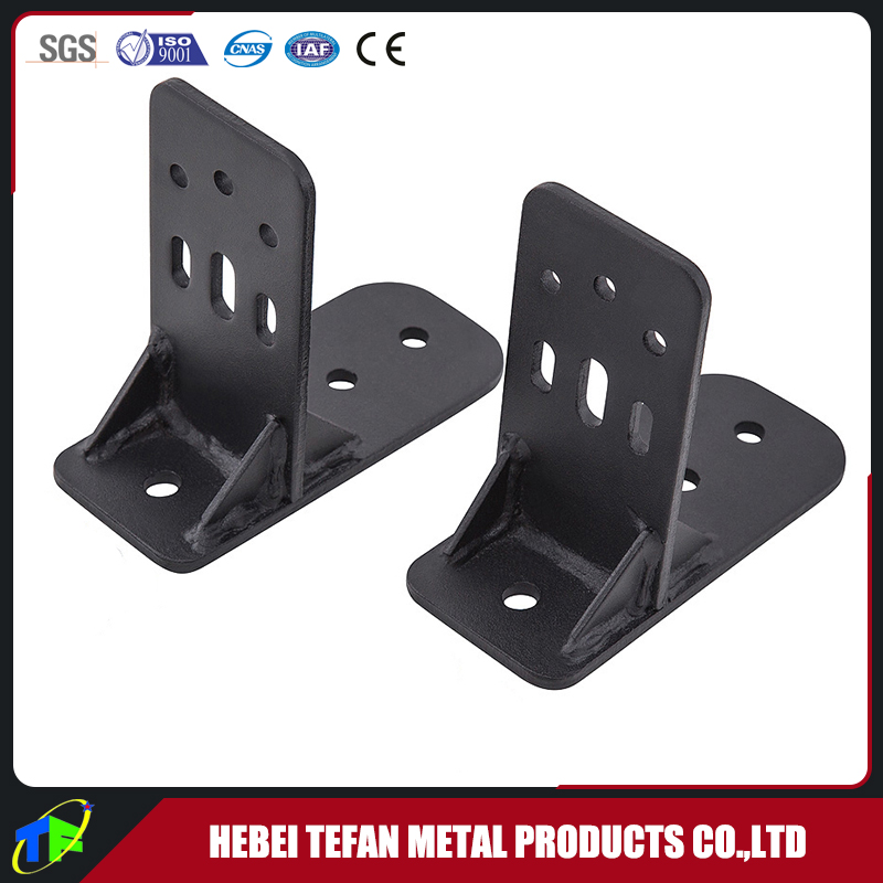 Customer Design Powder Coated Steel Stamped Awning Mount Bracket