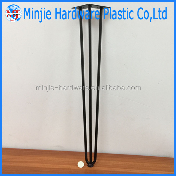 Furniture Leg Type and plastic and metal Material acrylic legs for furniture