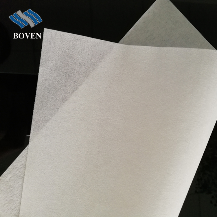 56 gsm 6''x6'' customer sized 55% wood pulp 45%polyester nonwoven  white best selling cleanroom wiper