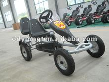 Fashionable hot sell adult pedal go kart dune buggy,sandbeach cart,two seat adult pedal car F160AB