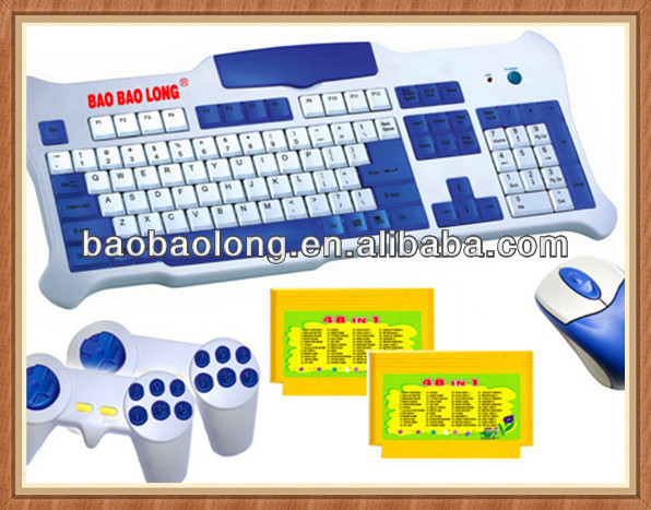 Educational 2 Player 1 Keyboard Games