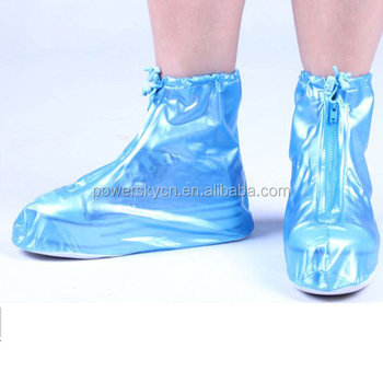 China Manufacturer Plastic Waterproof Rain Shoe Cover