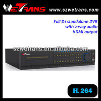 WETRANS HDMI 8CH H 264 Standalone DVR Hd Video, Hdd Media Player Dvr Tv Recorder