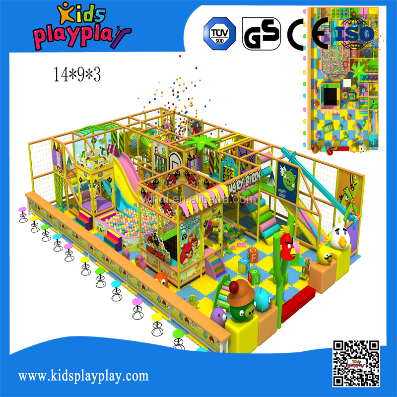 Funny Attractive Children Indoor Playground With Ball Pool