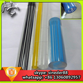 Factory low price translucent color threaded acrylic tube