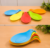 Eco-Friendly heat resistant kitchen spoon rests/silicone spoon holder