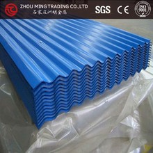 Aluzinc Coated Galvalume corrugated Roofing Sheet / titles