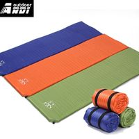 Outdoor camping tent sleeping bag automatic inflatable single mattress Moisture-proof pad