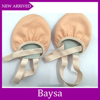 Ballet Practice toe pads half sole gymnastics ballet dance shoes for women BE010