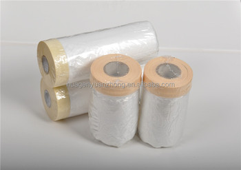 plastic masking film for car paint/ protective film 55cm 110cm optional