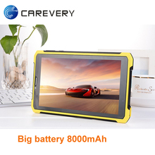 Android cheap 7 inch rugged tablet android 4.4 with 3G phone call function Big battery built-in
