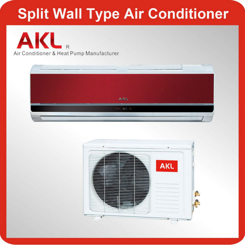 AKL brand name 12000 btu wall mounted split air conditioner