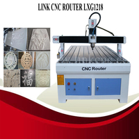 Smart and strong enough and Fast speed price router cnc 3d LXG1218