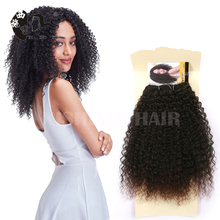 Fashion 14Inch Short BELLY kinky straight Hair Styles angels African Synthetic Hair Extension Weave For Black Women