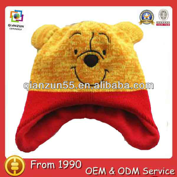 baby funky knitted hat free knitting patterns animal hats baby hat crochet pattern