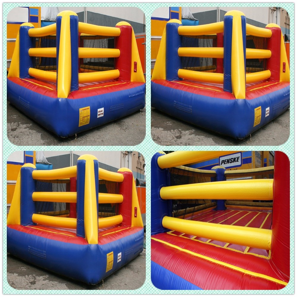 0.55mm PVC inflatable boxing ring inflatable wrestling ring for sale