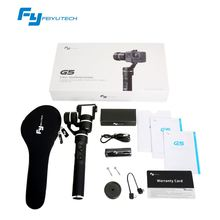 3 Axis gimbal handheld gimble Feiyu FY G5 camera stabilizer Steady Camera Gimbal for go pro Her o3+ 4 Xiao mi aee work with APP