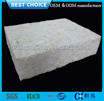 factory producing Comfortable Rebonded Foam Mattress