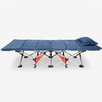 Furniture Portable Folding Bed Camping Cot Bed for Adult