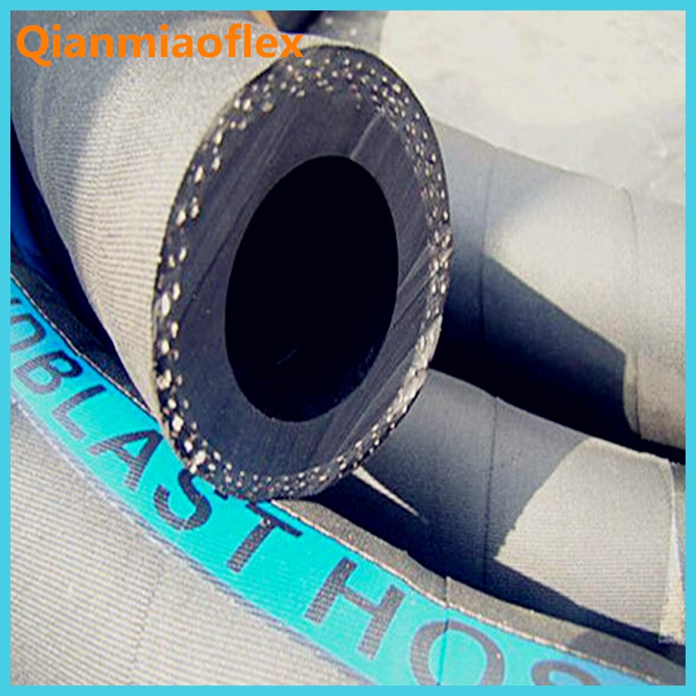 2017 new products Fabric Reinforced Cord Sand Blasting Rubber Hose